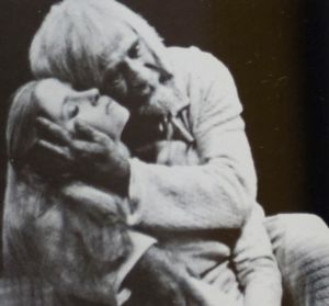 Warren Mitchell as King Learby William Shakespeare for the Queensland Theatre Company. Directed by Alan Edwards