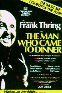 Man Who Came To Dinner (QTC Brisbane)