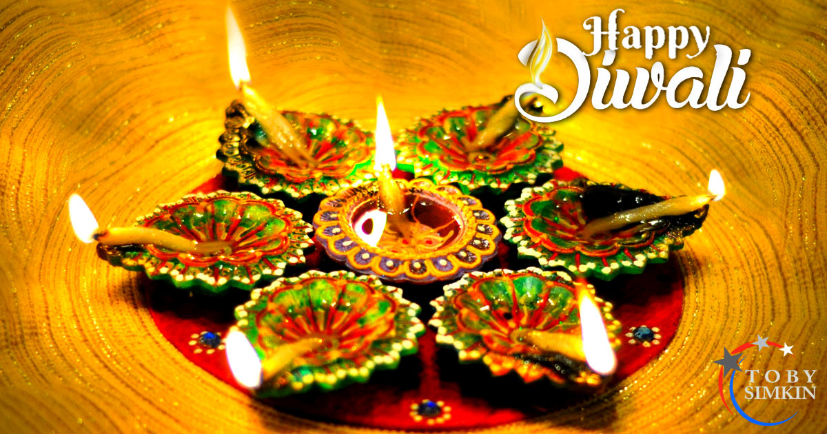Happy Diwali. Happy Festival of Lights.