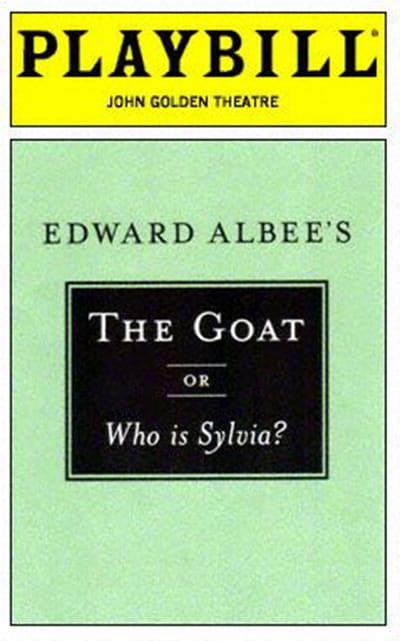 Goat Or Who Is Sylvia (Broadway)