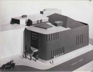 Temptation (1990 Westminster London) [Photo] Architects model of Theatre